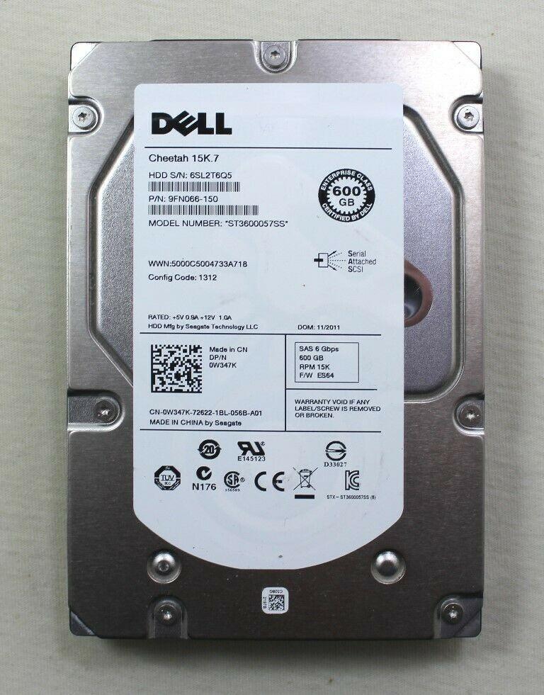 DELL 600GB SAS  15k rpm