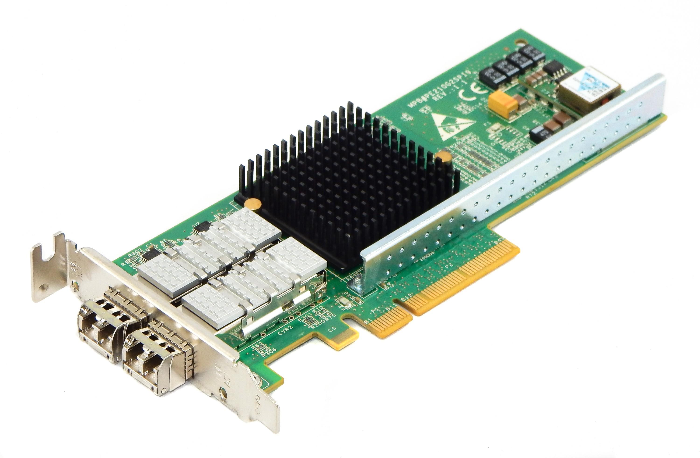 Двупортов мрежови адаптер Silicom Pe210g2spi9-sr