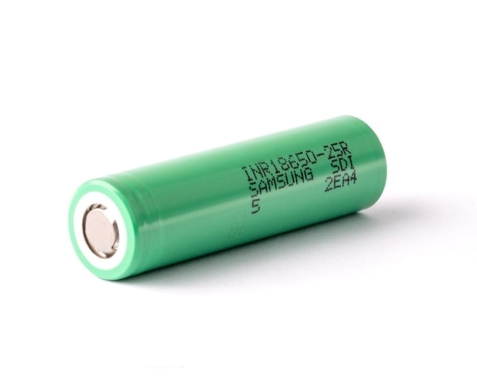 Батерия Samsung INR18650-25R 2500mAh 20A